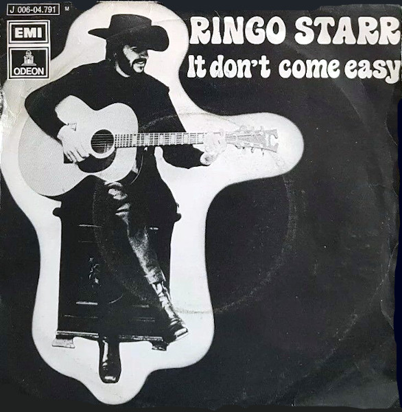 It Don't Come Easy 45 rpm sleeve