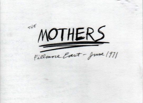 Fillmore East June 1971 album cover