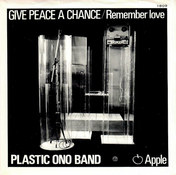 Give Peace a Chance 45 rpm sleeve