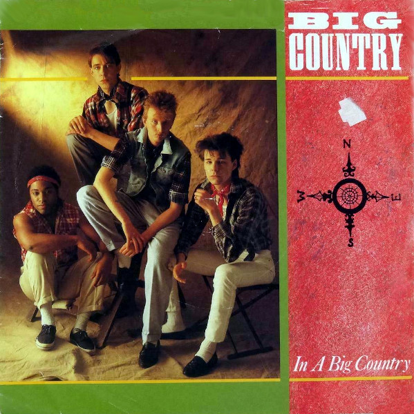 In a Big Country 45 rpm sleeve