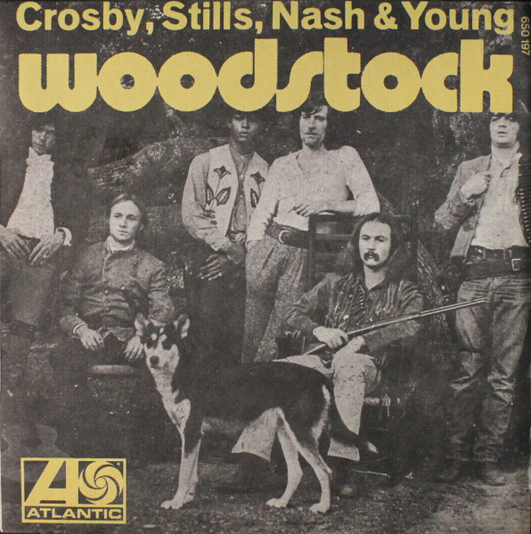 Woodstock 45 rpm sleeve