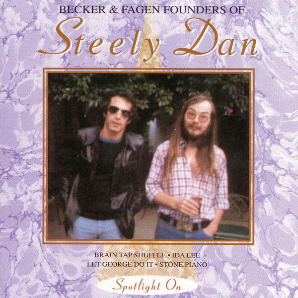 Becker & Fagen Founders of Steely Dan album cover
