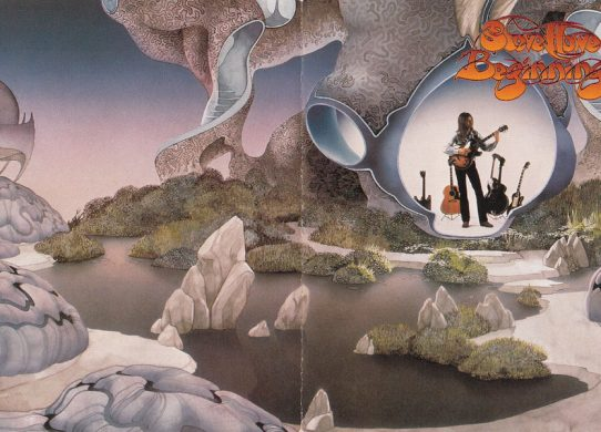 Beginnings gatefold album cover