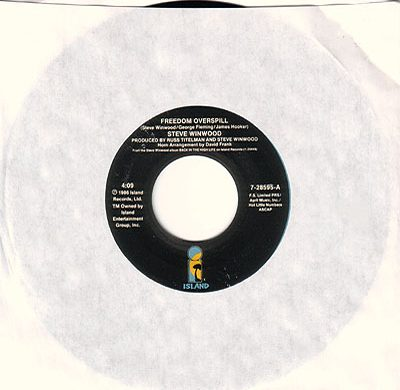 Freedom Overspill 45 rpm single