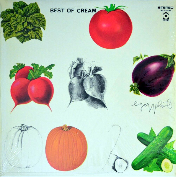 Best of Cream album cover