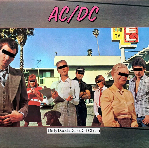 Dirty Deeds Done Dirt Cheap album cover