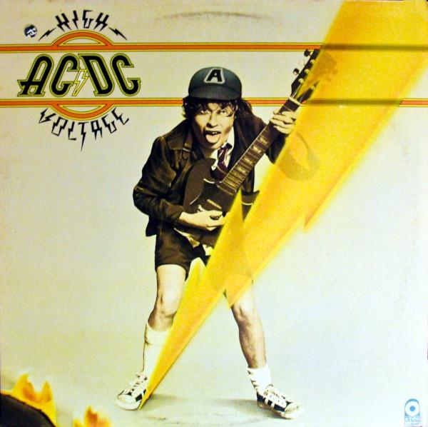 high voltage album cover