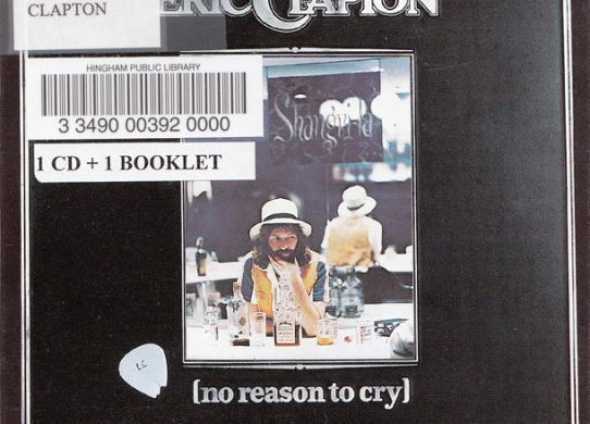 No Reason To Cry album cover