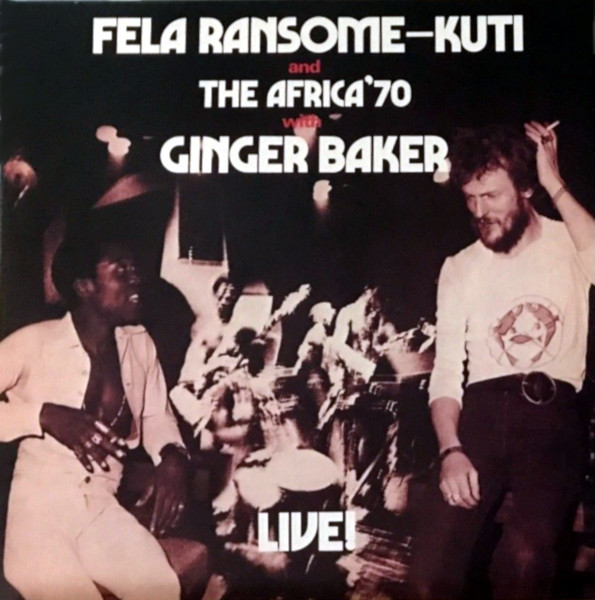 Fela Ransome-Kuti Live! album cover