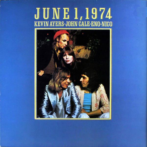 June 1, 1974 album cover