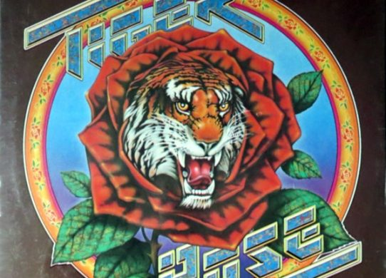 Tiger Rose album cover