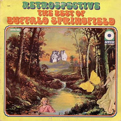 Retrospective album cover