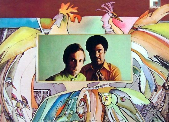 Jean-Luc Ponty Experience with The George Duke Trio album cover
