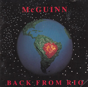 Back From Rio album cover