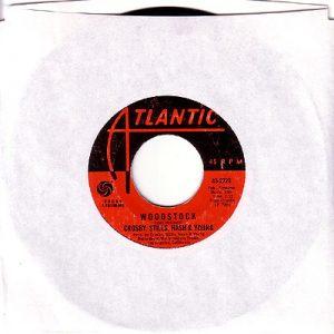 Woodstock 45 rpm single