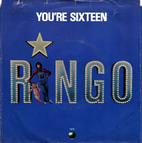 You're Sixteen 45 rpm sleeve