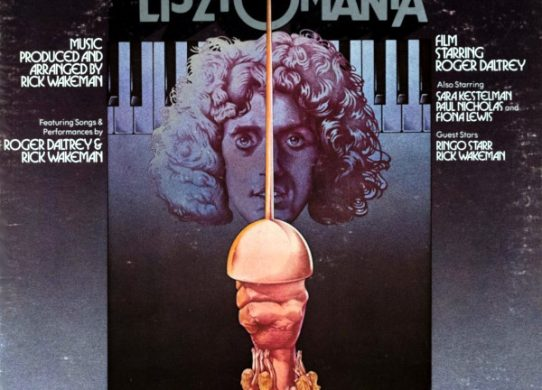 LIsztomania soundtrack album cover