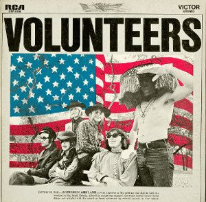 volunteers album cover