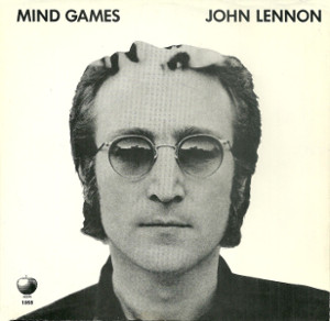 Mind Games 45 rpm sleeve