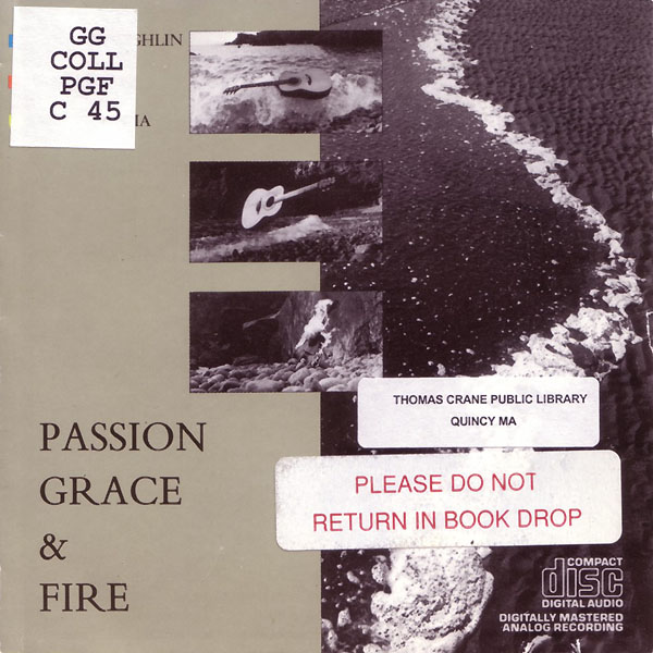 Passion Grace & Fire album cover
