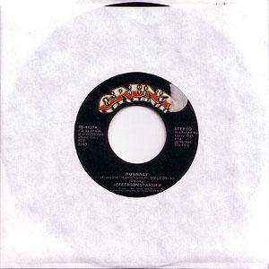 runaway 45 rpm single