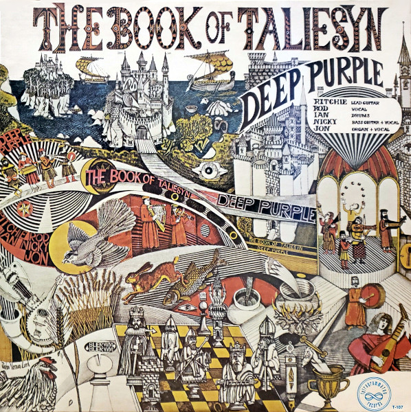 The Book of Taliesyn album cover