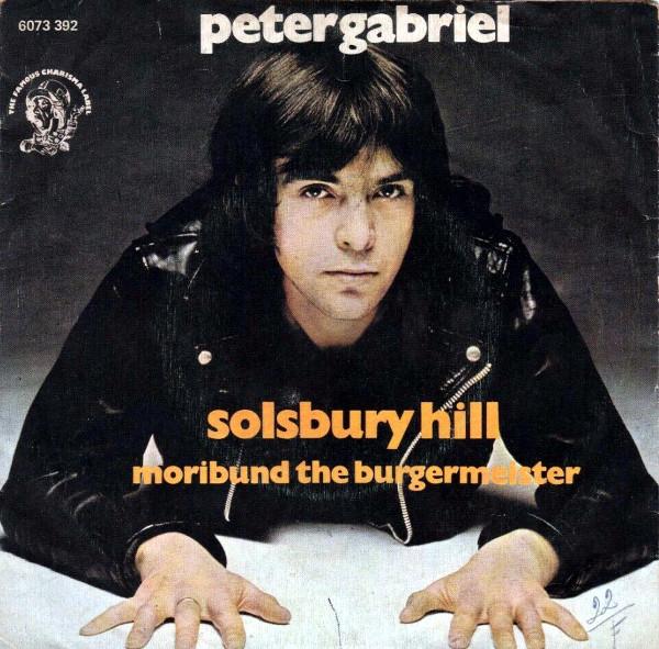 Solsbury Hill 45 rpm sleeve