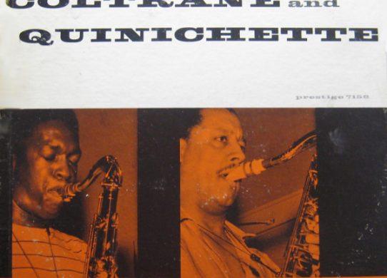 Cattin' with Coltrane and Quinichette album cover