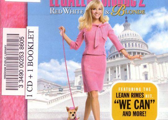 Legally Blonde 2 album cover