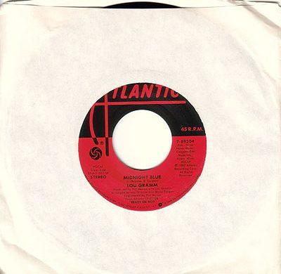 Midnight Blue 45 rpm single
