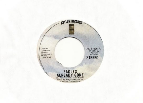 Already Gone 45 rpm single