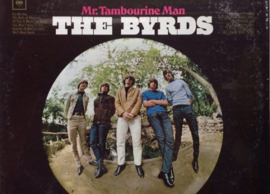 Mr. Tambourine Man album cover