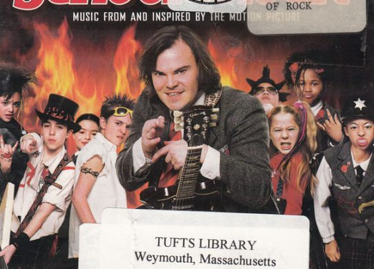 Scool of Rock Soundtrack album cover