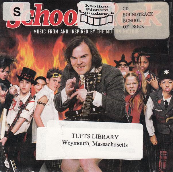 Scool of Rock Soundtrack album cover