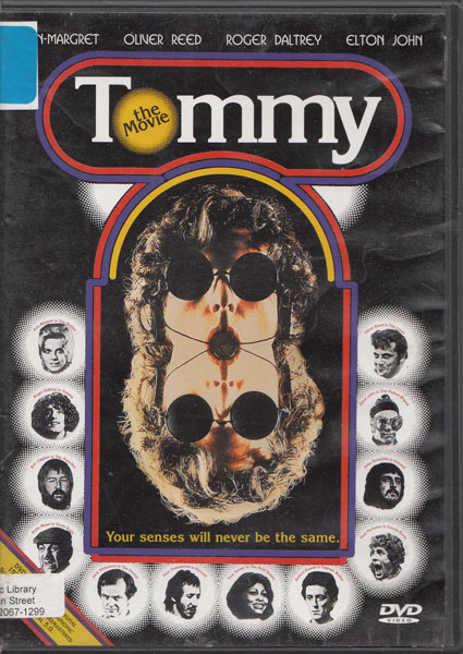 Tommy The Movie dvd cover