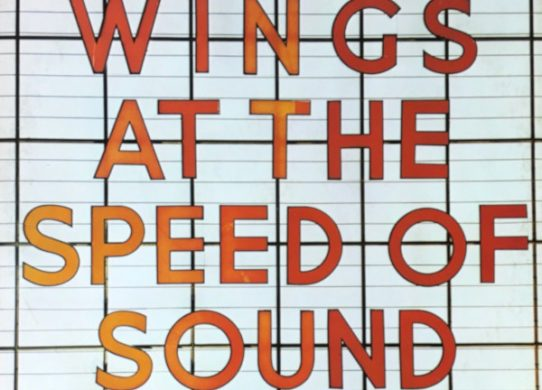 Wings At The Speed of Sound album cover