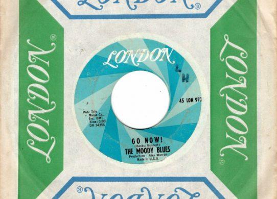 Go Now! 45 rpm single