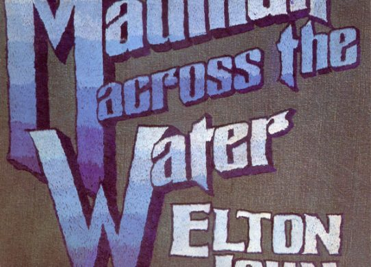 Madman Across The Water album cover