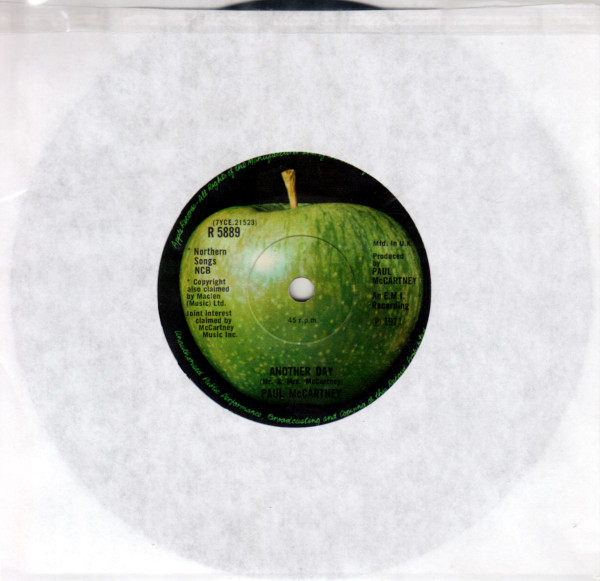 Another Day 45 rpm single