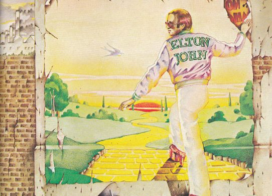 Goodbye Yellow Brick Road album cover