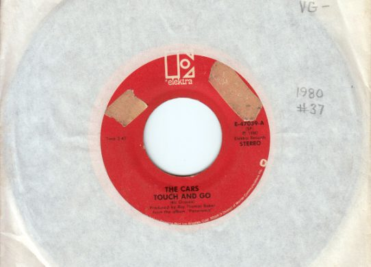 Touch and Go 45 rpm single