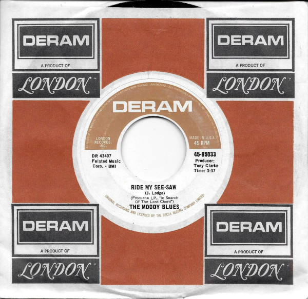 Ride My See-Saw 45 rpm single
