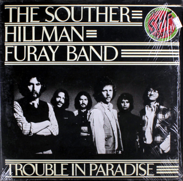 Trouble In Paradise album cover