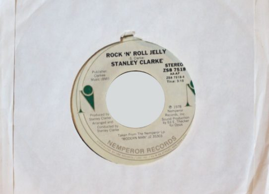 Rock 'N' Rolly Jelly 45 rpm single