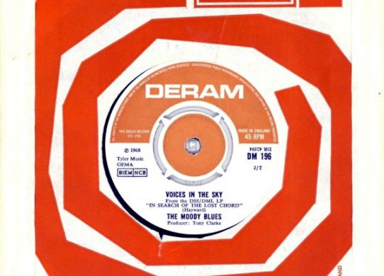 Voices In The Sky 45 rpm single
