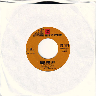 Telegram Sam 45 rpm single