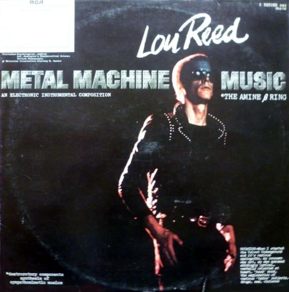 Metal Machine Music album cover