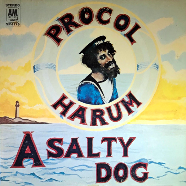 A Salty Dog album cover
