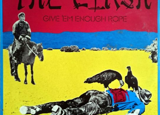 Give 'Em Enough Rope album cover