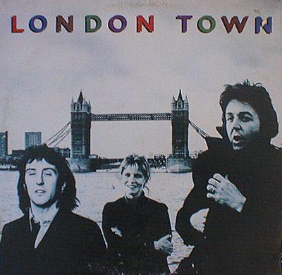 London Town album cover